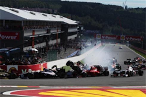 2012年F1ベルギーGP決勝