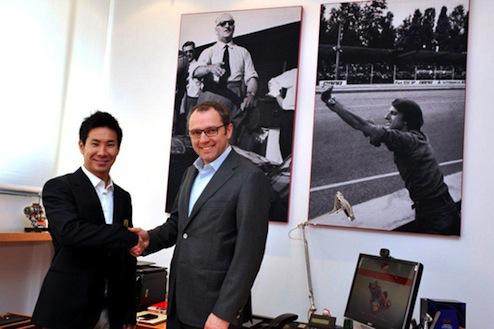 小林可夢偉フェラーリからWECへの参戦が決定