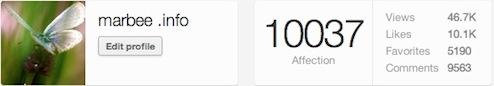 1万Affection達成