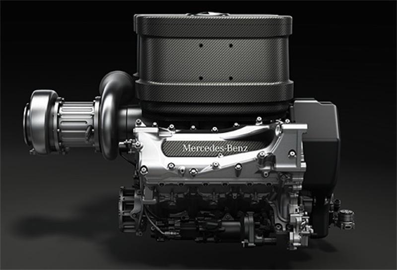 2014年メルセデスエンジン