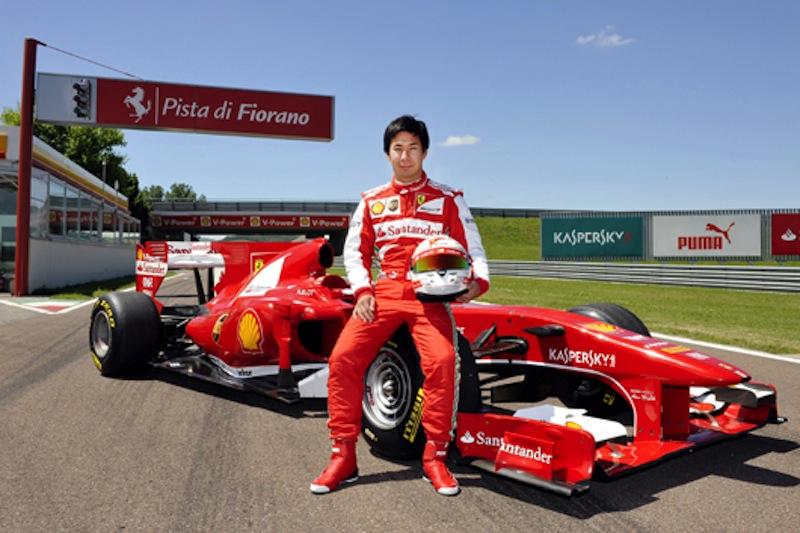 小林可夢偉フェラーリF10