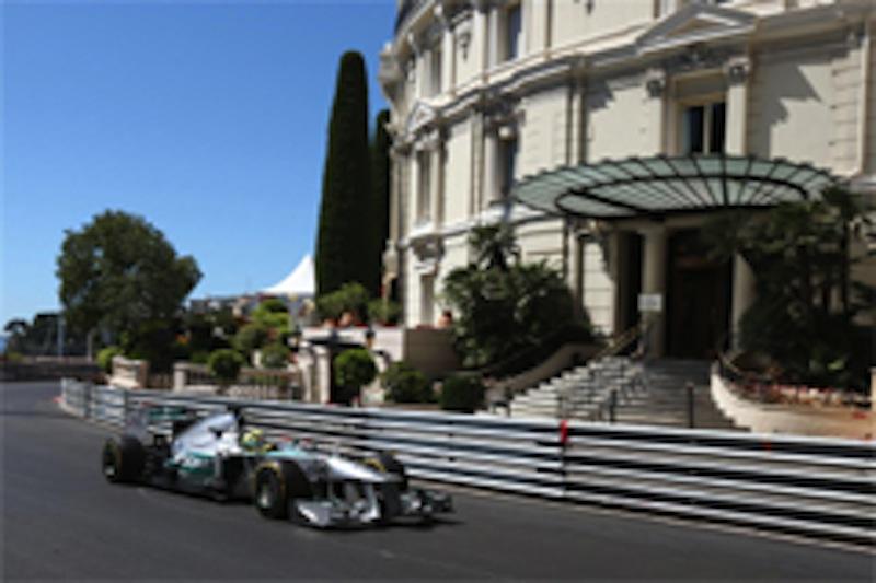 2013年F1モナコGP FP2