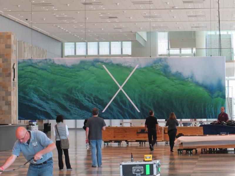 WWDC2013会場「OS X」