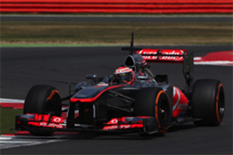 2013 F1 イギリス 若手ドライバーテスト 1日目