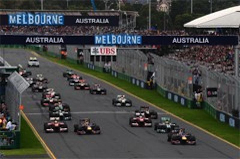 F1 2014 カレンダー