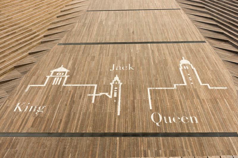 大さん橋 king Queen Jack