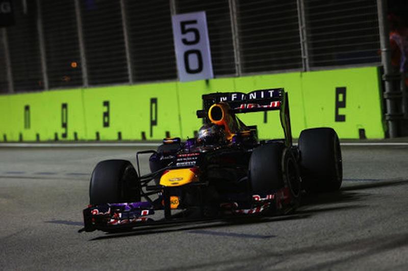 F1 2013 シンガポール FP2