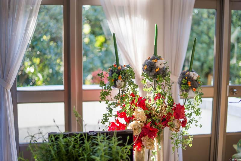 イギリス館 ハロウィーン仕様の窓