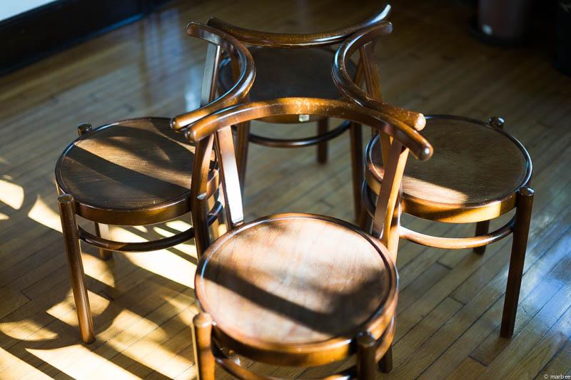 山手111番館 椅子