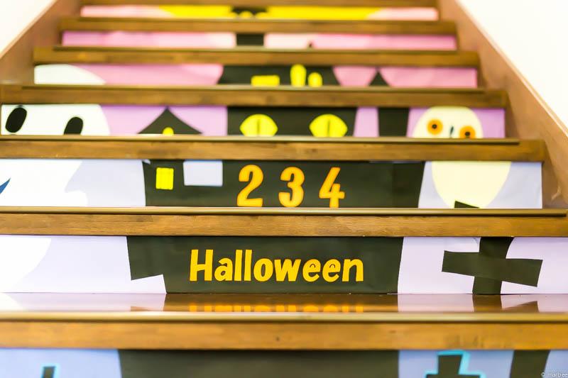 山手234番館 ハロウィーン仕様階段