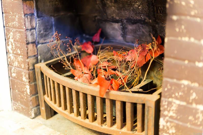 山手234番館 ハロウィーン仕様暖炉