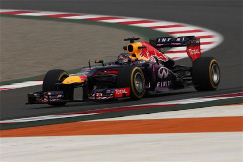 F1 2013 インド 予選