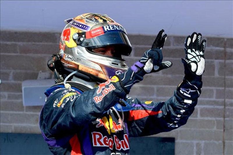 F1 2013 アメリカ 決勝