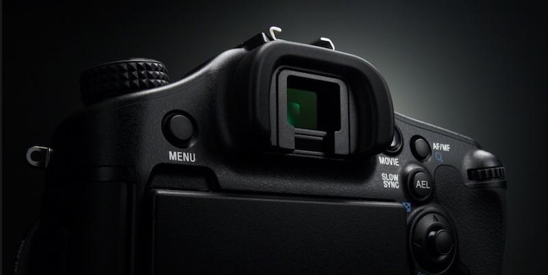 AマウントカメラEVF