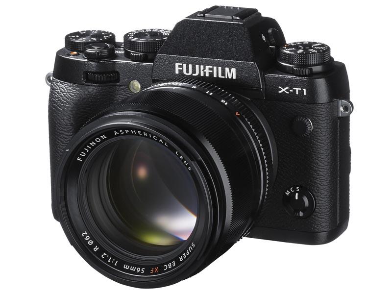 フジノンレンズ XF 56mm F1.2 R X-T1への装着例