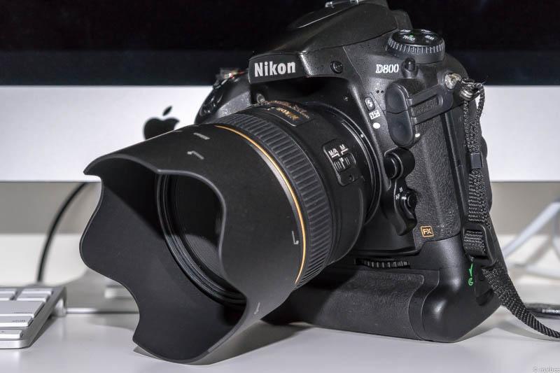 Nikon D800 + 単焦点レンズ AF-S NIKKOR 58mm f/1.4G