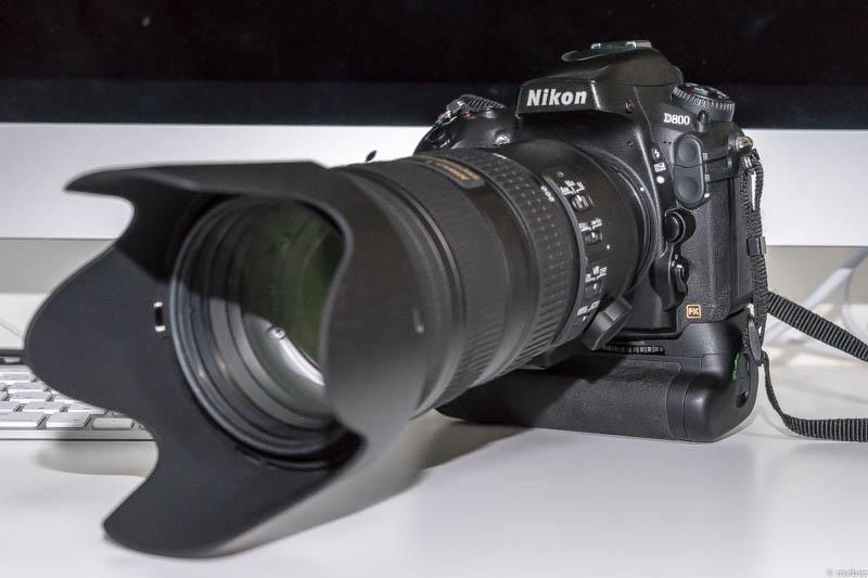 Nikon D800 + 望遠ズームレンズ AF-S NIKKOR 70-200mm f/2.8G ED VR II