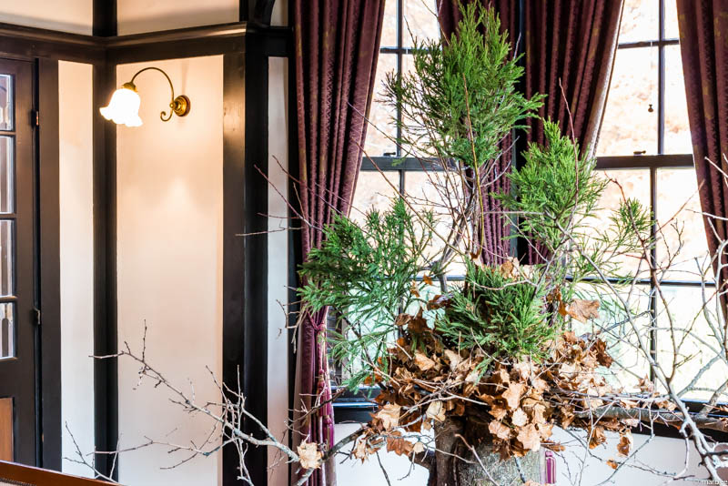 外交官の家 クリスマスツリー
