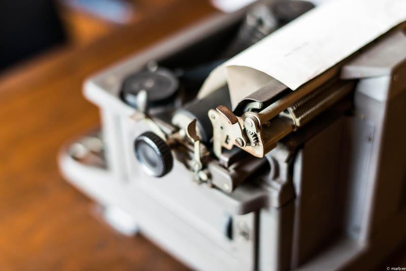 ベーリック・ホール タイプライター