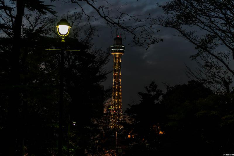 港の見える丘公園 夕景