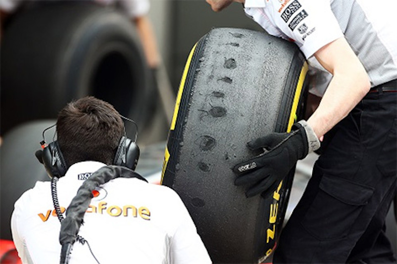 ピレリ2013年用のマシンで2014年のタイヤをテスト
