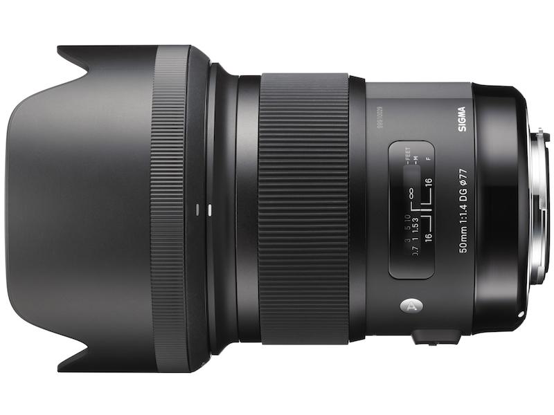 SIGMA 50mm F1.4 DG HSM フード付き