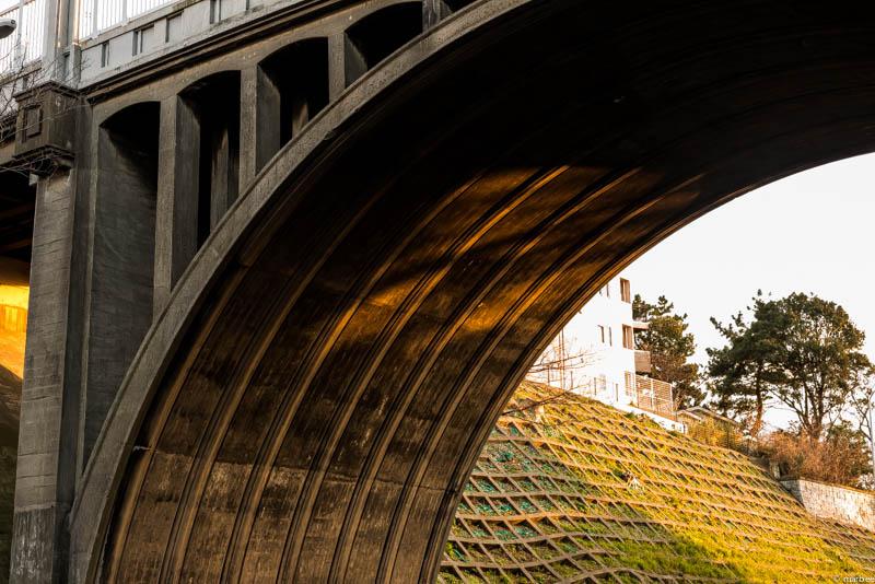 夕焼けの響橋