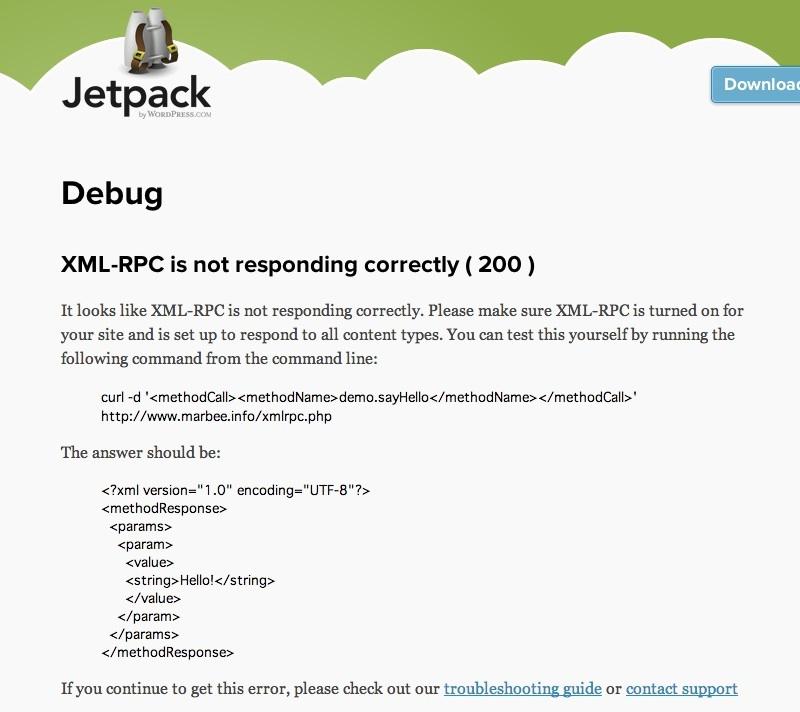 jetpack デバッガ
