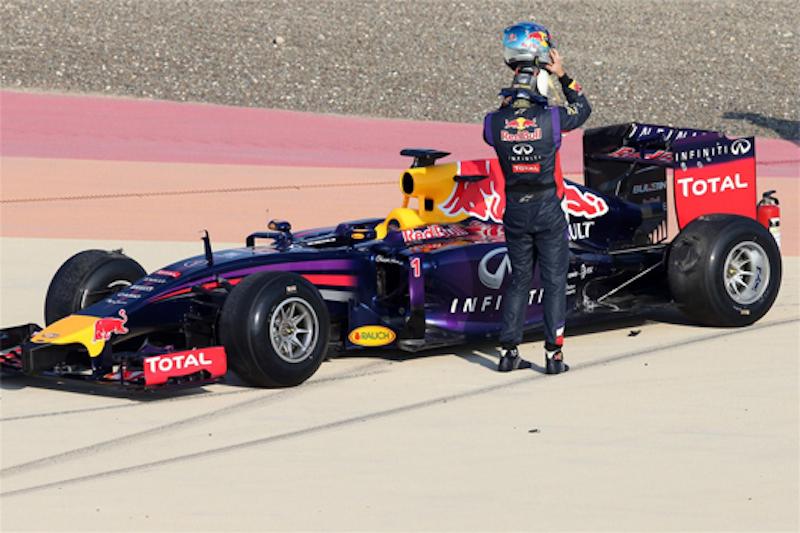 F1 2014 ウィンターテスト 第二回 バーレーン 初日