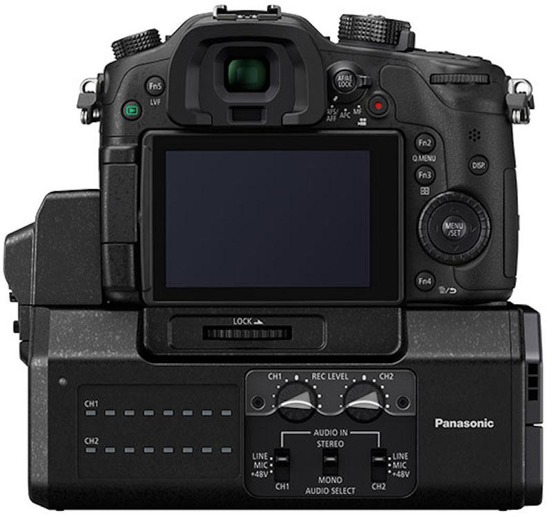 Panasonic DMC GH4 YAGH 背面