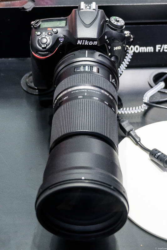TAMRON SP 150-600mm F5-6.3 Di VC USD 上面