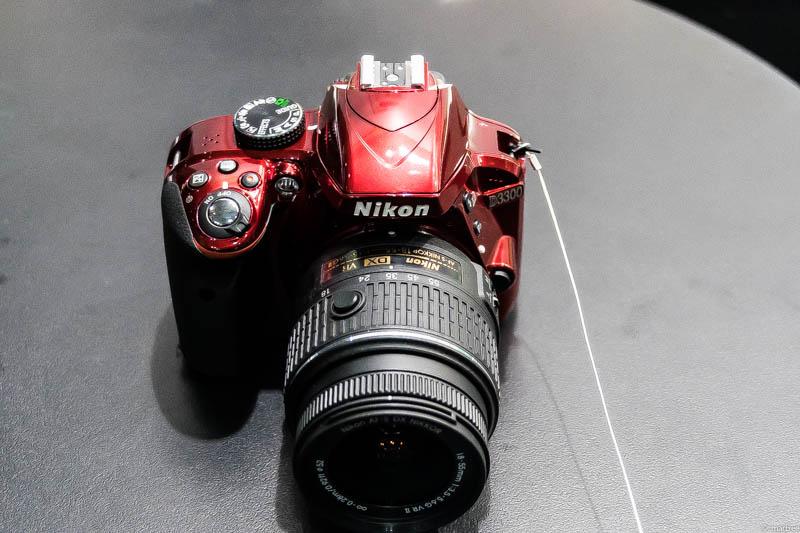 Nikon D3300 上面