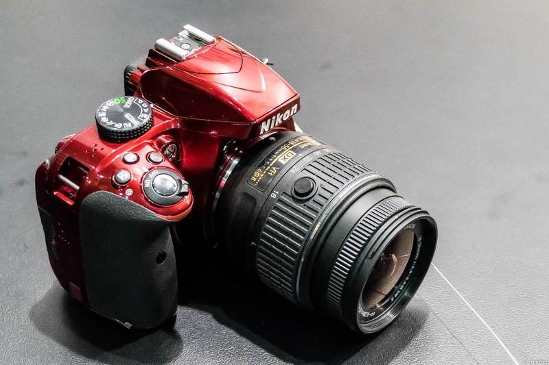 Nikon D3300 斜め前
