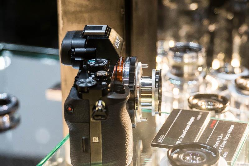 α7R + COSINA フォクトレンダー VM-E Close Focus Adapter + HELIAR