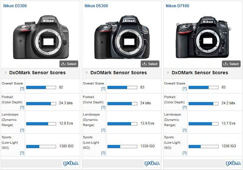 Nikon D3300 DxOMark