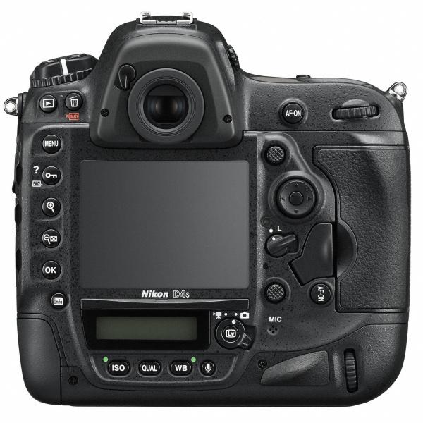 Nikon D4s 背面