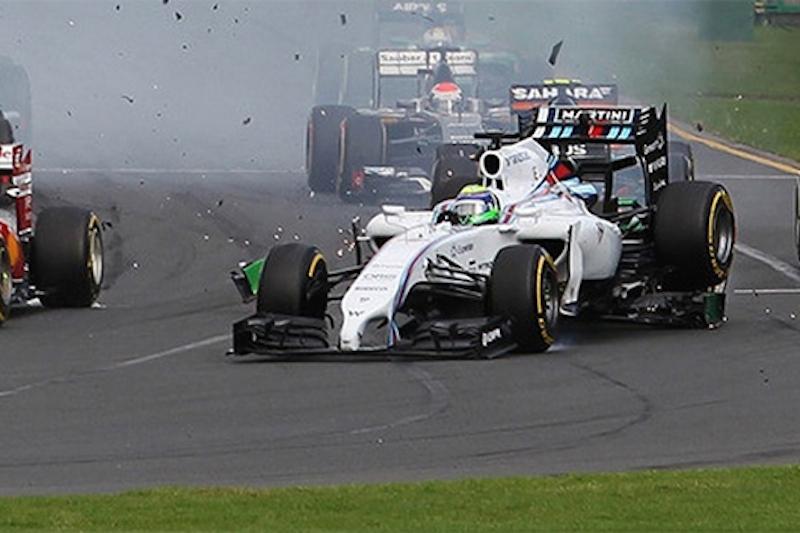 2014年F1マシン、低いノーズの衝突時の危険性が露呈