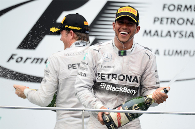 F1 2014 マレーシア 決勝