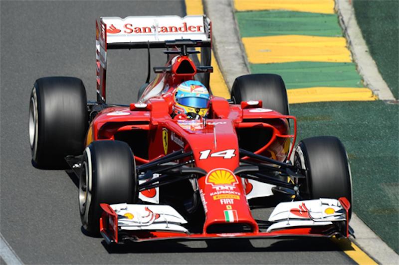 F1 2014 オーストラリア FP1