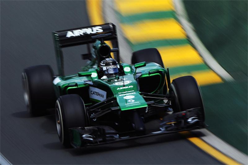 F1 2014 オーストラリア 予選