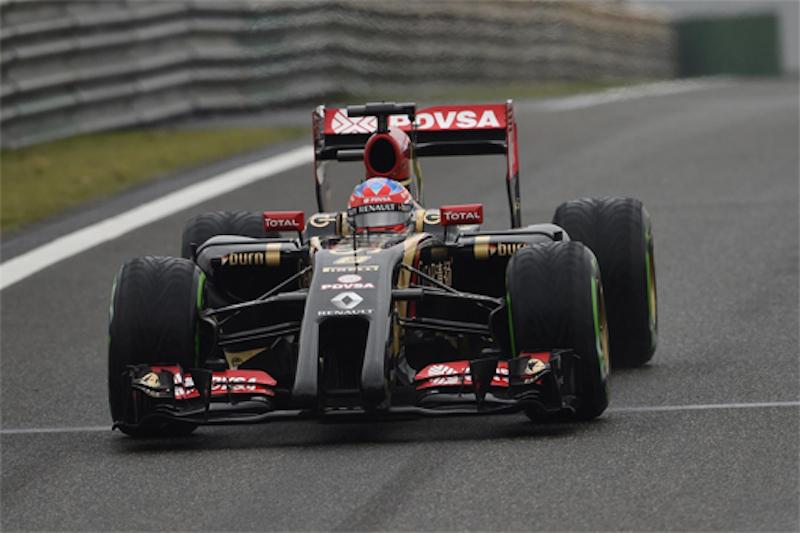 F1 2014 中国 予選