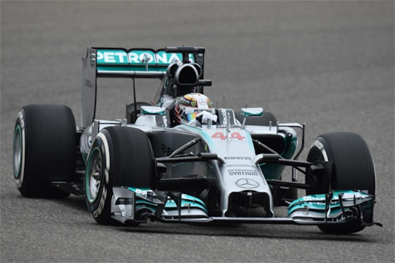 F1 2014 中国 FP2