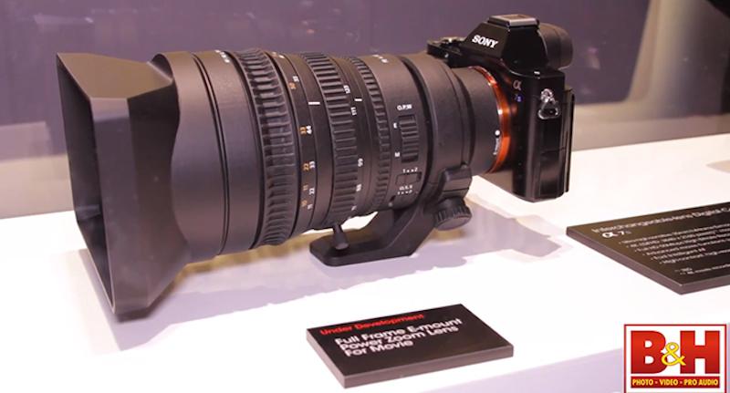SONY FE 28-135mm F4 Powerzoom