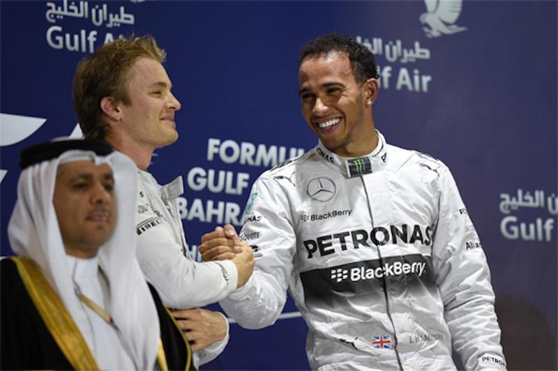 F1 2014 バーレーン 決勝