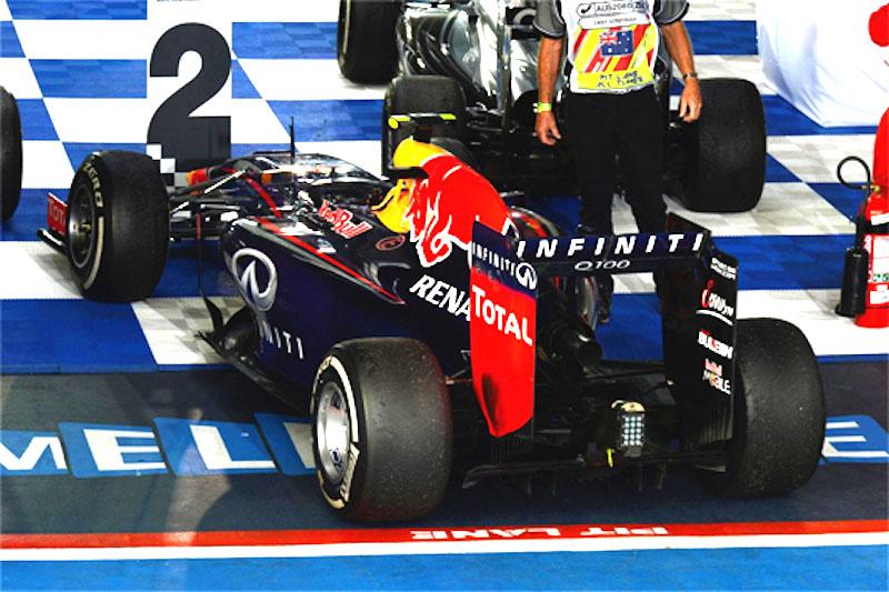 レッドブル 2014オーストラリアGPの燃料流入量問題で敗訴