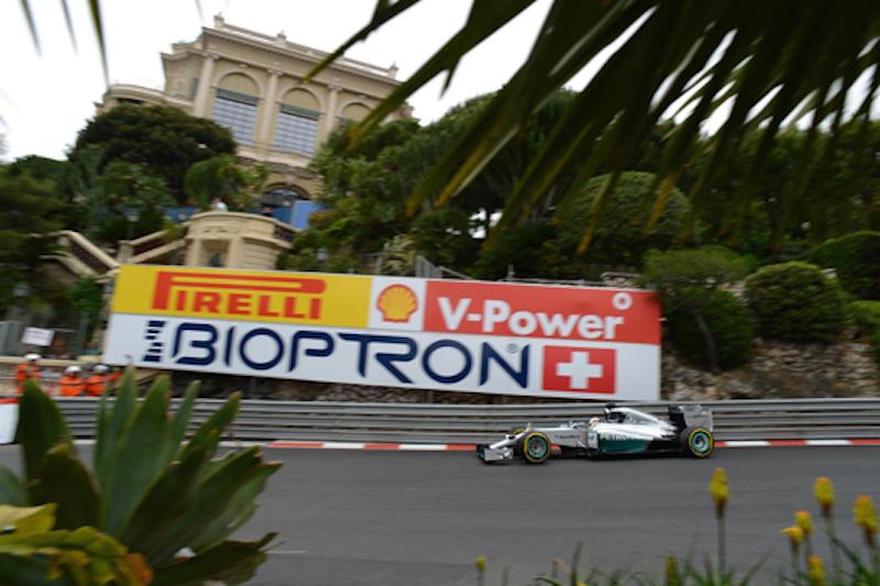 F1 2014 モナコ FP1