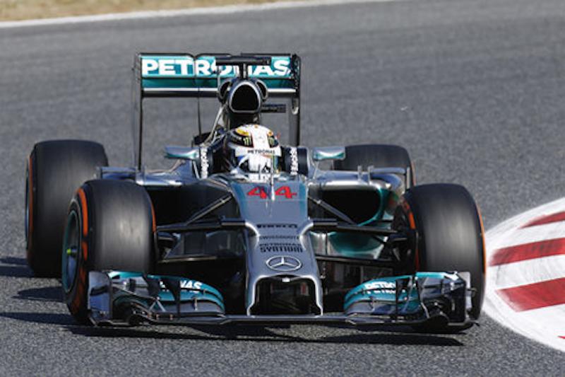 F1 2014 スペイン FP1