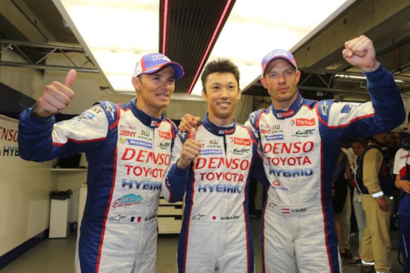 ル・マン 2014 トヨタ 中嶋一貴 ポールポジション
