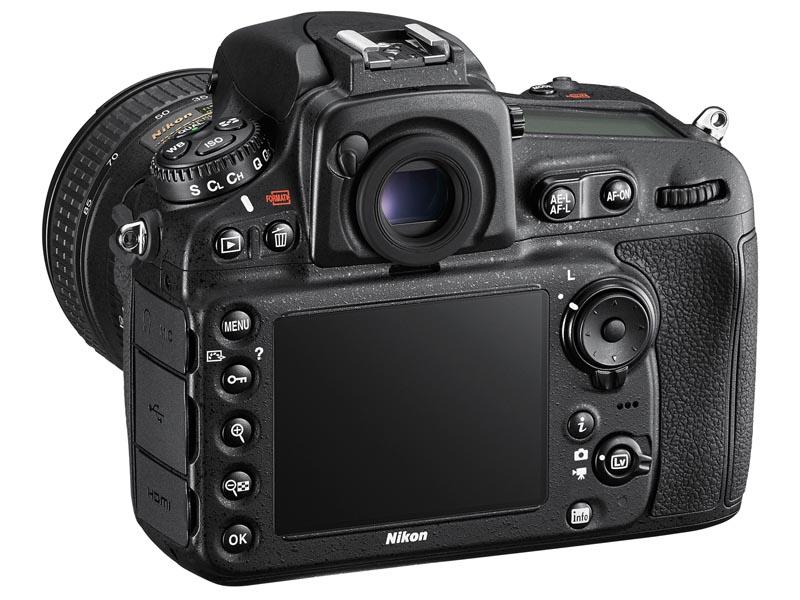 Nikon D810 背面