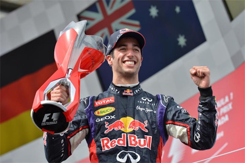 F1 2014 カナダ 決勝